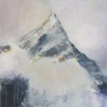 Berg 2 2013 100 x 100 cm