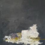 Grau abstrakt 2011 80 x 100 cm