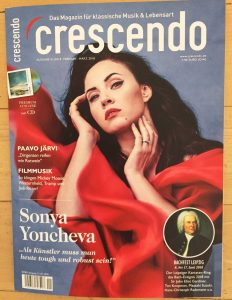Cover Crescendo Magazin 2018